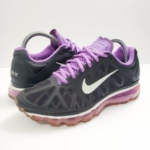Nike Air Max 360 2011 Black Athletic Running Shoes